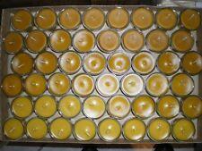 0,95€/Stk. Teelichter Glas mit Bienenwachs gefüllt  20 Stk.