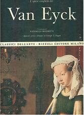 L'OPERA COMPLETA DEI VAN EYCK RIZZOLI 1968 I° ED. CLASSICI DELL'ARTE 17