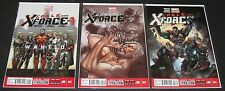Cable and X-Force 001, 002 & 003 1 2 3 (2013-, Marvel) 1st Print