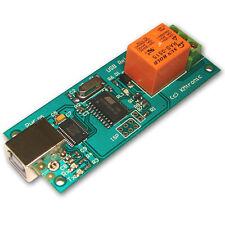 KMTronic USB Uno Rele Controller, RS232 Serie controlador, PCB