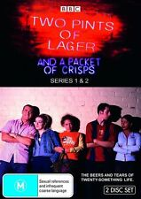 Two Pints Of Lager And A Packet Of Crisps : Series 1-2 (DVD, 2009, 2-Disc Set)R4