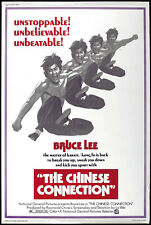 The Chinese Connection - Jing wu men (1972) Bruce Lee cult movie poster 24x36