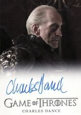 Game of Thrones Season 2 Charles Dance / Tywin Lannister Auto Card