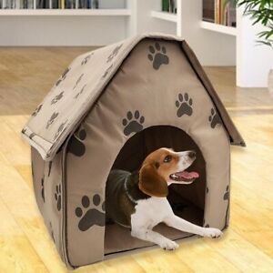 Dog House Delicate Design Foldable Dog Indoor Kennel Igloo Cave Dog House