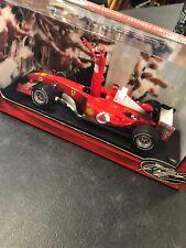 Limited Edition Hot Wheels Racing F1 Michael Schumacher 2004 World Champion Car