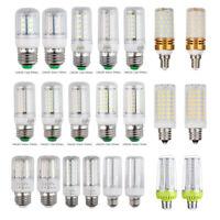 E27 E14 E12 10W 15W 20W 5730 SMD 60 75 120LED Corn Bulb Lamp Light Bright 220V