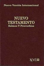 Nuevo Testamento de Bolsillo NVI, Salmos y Proverbios, Vino  (NVI Pocket New
