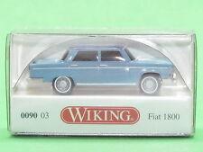 1:87 Wiking 009003 Fiat 1800 - pastellblau mit nachtblauem Dach Blitzversand DHL