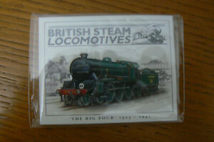 16 FRAMEABILITY BRITISH STEAM LOCOMOTIVES TRADE CARDS - BRAND NEW IN SEALED PACK