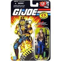 "GI Joe Hasbro 25th Anniversary 3.75"" Figure MOC Cobra Dreadnok Torch"