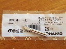 Soldering Solder Leader-Free Solder Iron Tip for Hakko 936 900M-T-K *US SHIP