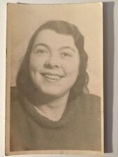 Vintage Postcard - RP Anonymous People - Woman #31