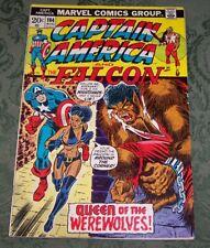 Captain America 164 FN- Marvel Bronze Age Falcon Nightshade
