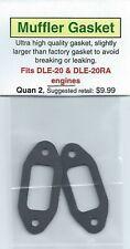 DLE-20 & DLE-20RA Exhaust/Muffler Gasket 2 Pack NIP