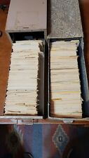 Huge Lot Of Recipes Over 2,300 Hand Written, Clipped, Premiums, Misc.