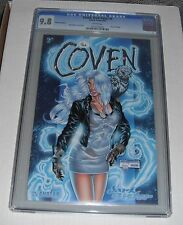 Coven-Dark Sister  # 1...CGC Blue slab 9.8  grade--rb...Prism Foil Edition--2001