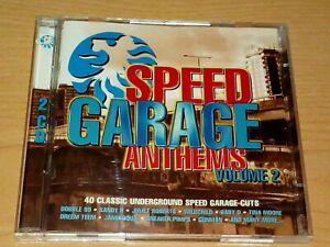 SPEED GARAGE ANTHEMS VOLUME 2 CD 1998 2 DISCS.