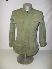 e0583 US Vietnam OD Jungle Jacket only X-Small-Regular original R Stop used W14E