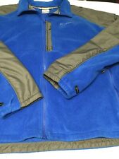 Columbia Mens 2XL Fleece Zip Up Jacket