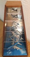 Vintage KLM Cargo World Firsts Display Case Set | Schabak | 932 941 934 924 921