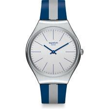 Orologio Swatch SKIN IRONY SKINSPRING SYXS107 UOMO watch SOTTILE SILICONE BLU