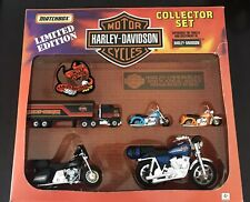 LIMITED EDITION COLLECTOR SET MATCHBOX HARLEY-DAVIDSON Die-Cast Motorcycles