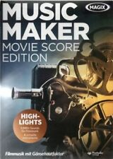 MAGIX - Music Maker - Movie Score Edition - Software - PC - Neu / OVP