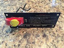 Sears Craftsman Radial Arm Saw Power Switch & Plate & Lock Saw Model # 113. #SP6