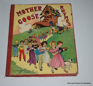 Mother Goose Rhymes Great Lenski Illustrations Platt & Munk, NY, 1932 NICE!