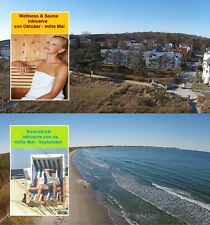 Ferienwohnung Fewo Insel Rügen Seebad Breege Juliusruh Direkt am Ostsee Strand
