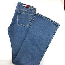 Vintage Tommy Hilfiger High Waisted Mom Jeans 3 Hipster Mod Bell Flare Leg NWT
