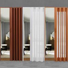 Folding Door PVC  Internal Doors Sliding Concertina Accordion Panel Magnetic