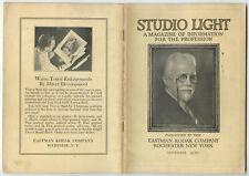 STUDIO OF LIGHT, NOV 1930 VOL 22, MAGAZINE FOR PHOTO PROFESSIONALS