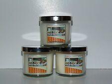 Bath & Body Works Slatkin & Co Ice Cream Shop Candles x3 4oz