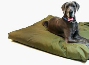 Waterproof Dog Bed Cushion with Heavy Duty Tough Removable Military Grade Cover/