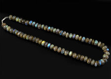Marvellous Elegant 264.70 Cts Natural Unheated Peruvian Opal Beads Necklace