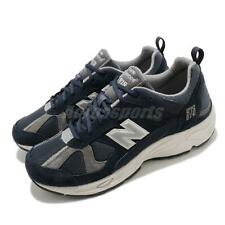 New Balance 878 Navy SIlver Grey Mens Lifestyle Retro Running Shoes CM878KE1 D