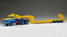Berliet tb 015 m3 6x4 blue/yellow 1:43 camion scala ixo model