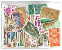 Spanish Colonies 100 Different Stamps Mint in Bag