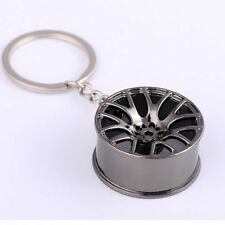 Model Keychain Key Ring Keyring Keyfob Fashion Metal Auto Car Wheel Rim
