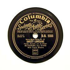 "METRONOME ALL STARS ( Frank Sinatra) ""Sweet Lorraine"" (E+) COLUMBIA DB-2355 [78]"