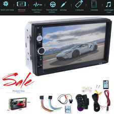7in Car Stereo Radio HD Mp5 Player Touch Screen Bluetooth Radio 2Din&Camera US
