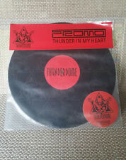 "DJ Promo - Thunder in my Heart 12"" Vinyl, Thunderdome, ID&T, Limited, Die Hard"