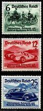 DEUTSCHES REICH, INTERNATIONAL CAR EXHIBITION IN BERLIN, MICHEL # 686-8, (SU056)
