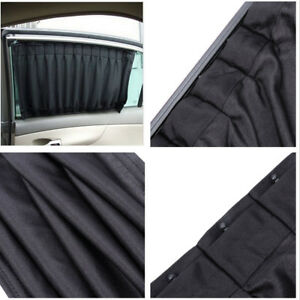 Easy To Install No Modification Required S Car Mesh Style Side Window Sunshades