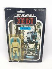 Star Wars del AT-ST Vintage Kenner Figura de Acción cardado (reglue) 1983