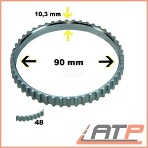 ABS SENSOR RING 48 TEETH FRONT AXLE FIAT SCUDO 96-06 ULYSSE 94-02