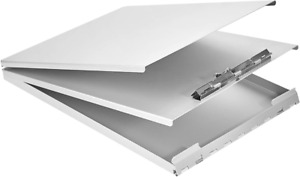 Aluminum Clipboard With Storage Recycled Metal Form Holder Office Binder Paper