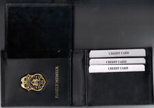 Federal Reserve Police Officer's Family Member Credit Card Wallet w/1-Inch Mini