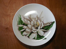 Santa Anita Ware CA FLOWERS OF HAWAII NIGHT BLOOMING CEREUS 4 Dinner Plates B